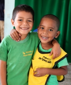 ChildCARE Plus children in one of our Latin American program countries