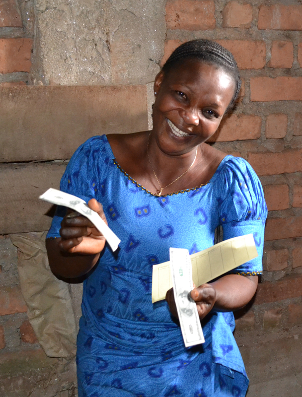 Congo Microfinance Harmon lending post - Excited about loan!