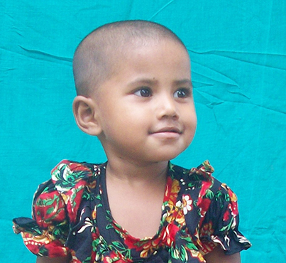 Dipa, from Bangladesh, is waiting for a sponsor. Could it be you?