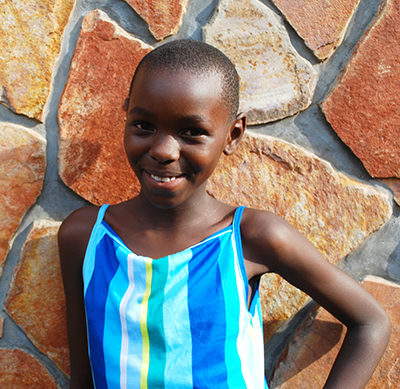 Mauwa who is in our ChildCARE Plus Program in Burundi