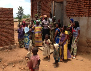 Congo - Families who are a part of the Wezesha Project