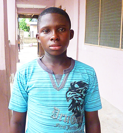 Eugene - a child who is waiting for a sponsor