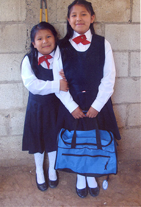 Gabriela and her sister