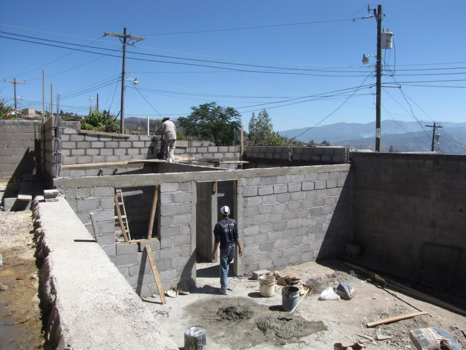 Honduras - In School Feeding - Location in construction