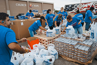 convoy of hope distribution