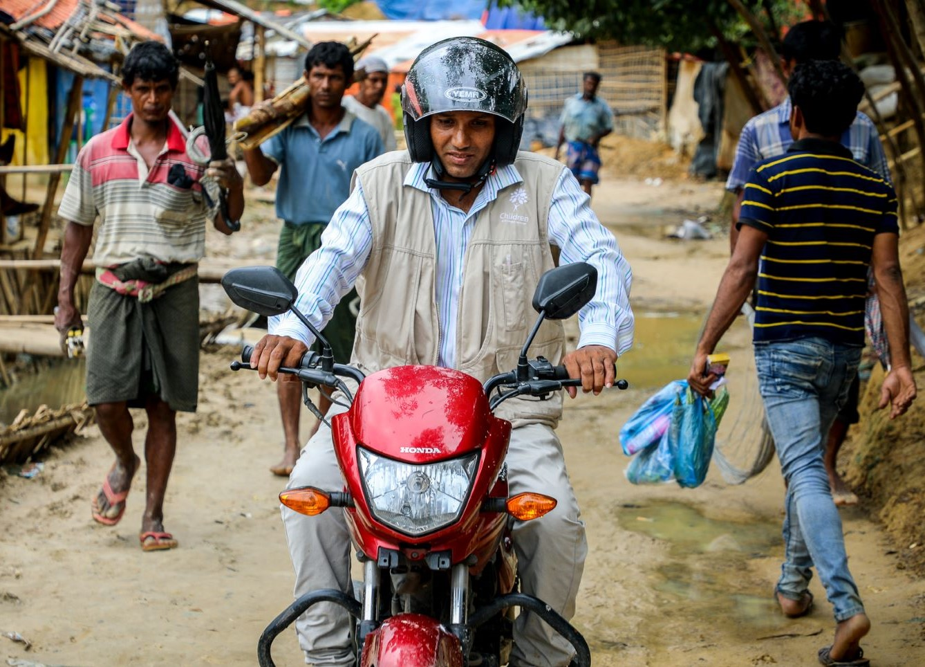 Motorcycles for Overseas Programs