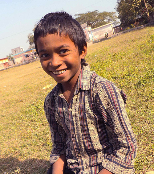 Rohit - A child in ChildCARE Plus