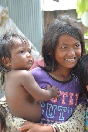 ERDO project using Bio Sand Filters creates clean water in Cambodia