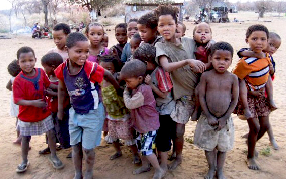 Zimbabwe Children from North Tsholotsho