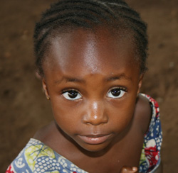 A child from the Village of Hope in Burundi