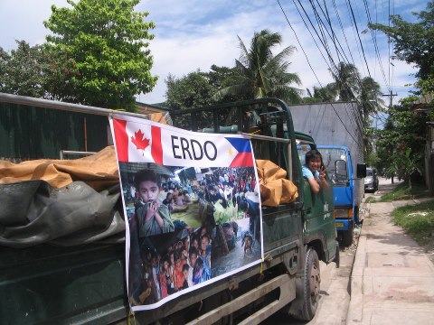 ERDO's response in Philippines to the flooding