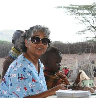 Global Worker, Deborah Sirjoosingh in Turkana Kenya